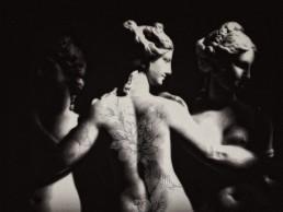 Tattoo Girl - Opera di Juna Cappilli Contemporary Art